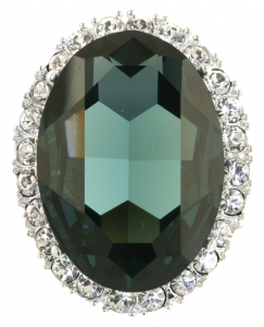 Princess Diana Sapphire and Diamond Brooch