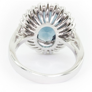 Princess Kate Ring (silver toned)