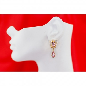 Princess Margaret Rose Ornate Earrings