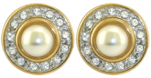 Queen Alexander Cluster Stud Earrings