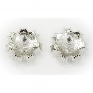 Queen Elizabeth II Floret Stud Earrings