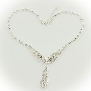 Queen Mary Three Arch Necklace
