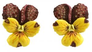 Violet Earrings (Large)