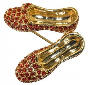 Red Ruby Slippers Brooch