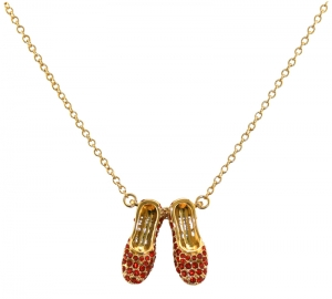 Red Ruby Slippers Necklace