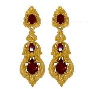 Rococo Jewelled Earrings