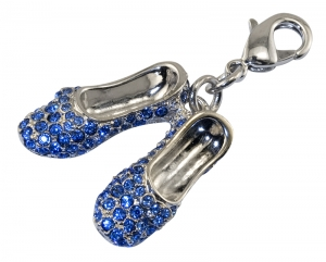 Sapphire Slippers Charm
