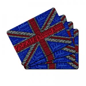 Set of 4 Diamond Jubilee Placemats
