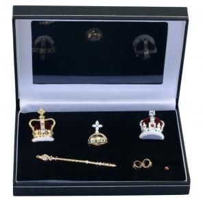 Seven Piece Coronation Crown Set