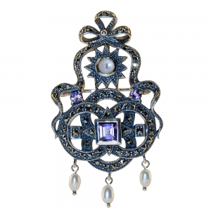 Shakespeare Jewel Brooch