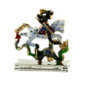 St George and the Dragon ornament