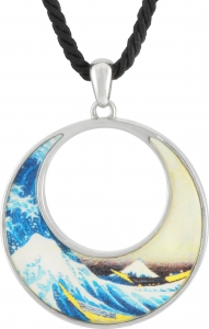 The Great Wave Pendant