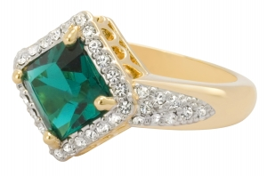 Townshend Emerald Crystal Ring