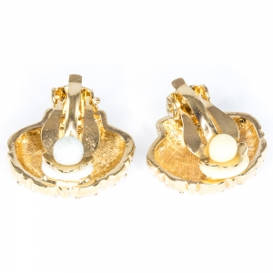 Treasures from the Sea Clip on Earrings