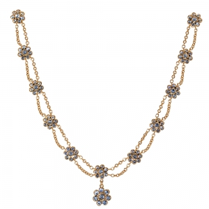 Tudor Rose Jewelled Necklace