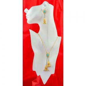 Turquoise Tassle Necklace