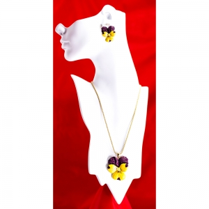 Violet Pendant (Large)