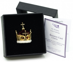 1969 Prince of Wales Miniature Crown British Crown Jewels