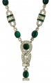 Art Deco Vert Necklace