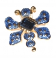 Blue Beetle Bug Pin