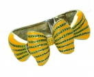 Bow Yellow Enamel and Crystal Bangle
