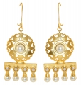 Castellani Byzantine Rosette Earrings