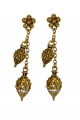 Castellani Double Droplet Earrings
