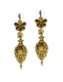 Castellani Single Drop Earrings