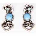 Crystal Love Azure Earrings