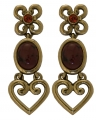 Crystal Love Rouge Earrings