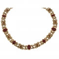 Crystal Love Rouge Necklace