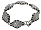 Crystal Lozenge Bracelet