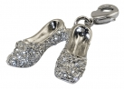 Crystal Slippers Charm