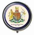 Diamond Jubilee Coat of Arms Pillbox