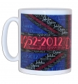 Diamond Jubilee Union Jack Mug