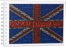 Diamond Jubilee Union Jack Notepad