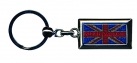 Diamond Jubilee Union Jack Rectangular Keyring