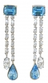 Durbar Aquamarine Earrings