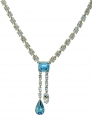 Durbar Aquamarine Necklace