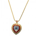 Elizabeth Taylor Heart Necklace