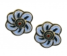 Floral Inspiration Clip Earrings