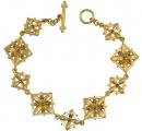 Giuliano Floral Bracelet