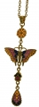 Gold-plated Butterfly Pendant