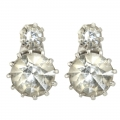 Grace Kelly Crystal Earrings