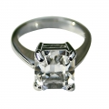 Grace Kelly Crystal ring- Small 17, Med 16, Large 15