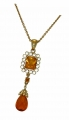Grand Jewelled Jaune Pendant
