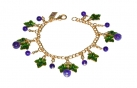 Grapevine Charm Bracelet