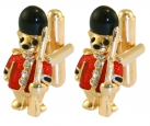 Guardsman Teddy Cufflink