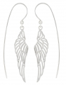 Heavenly Wing Earrings (Fretwork)