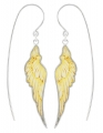 Heavenly Wing Earrings (Printed MOP)